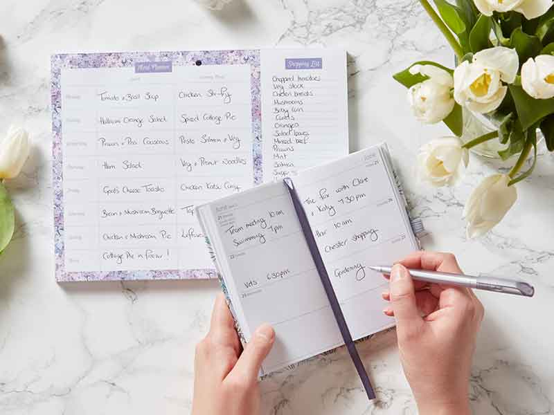 POCKET DIARY & MEAL PLANNER